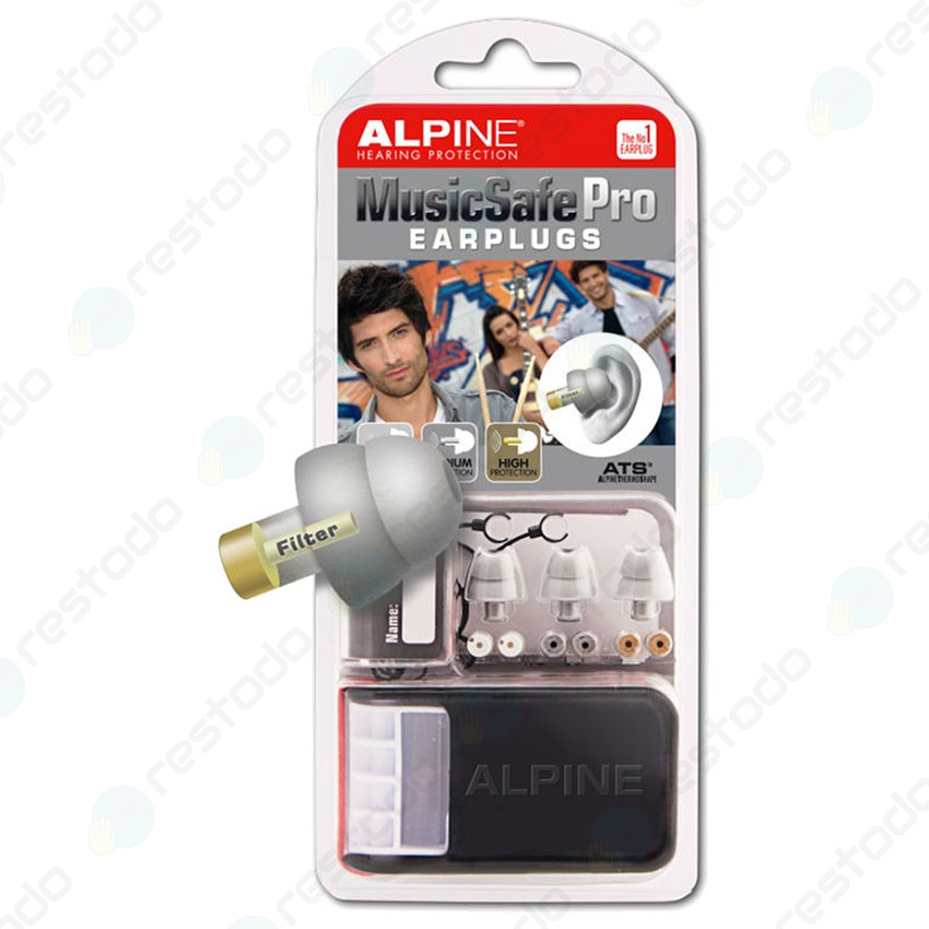 Protector Auditivo Alpine Hearing Protection MusicSafe Pro Gris