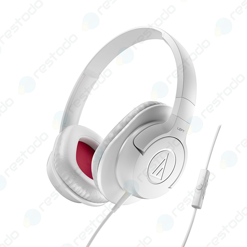Auricular Audio-Technica SonicFuel ATH-AX1iS Blanco