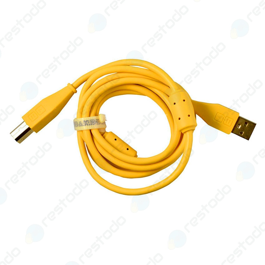 DJ Techtools Chroma Cable USB Recto Amarillo