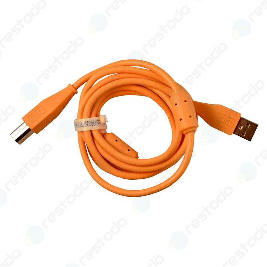 DJ Techtools Chroma Cable USB Recto Naranja