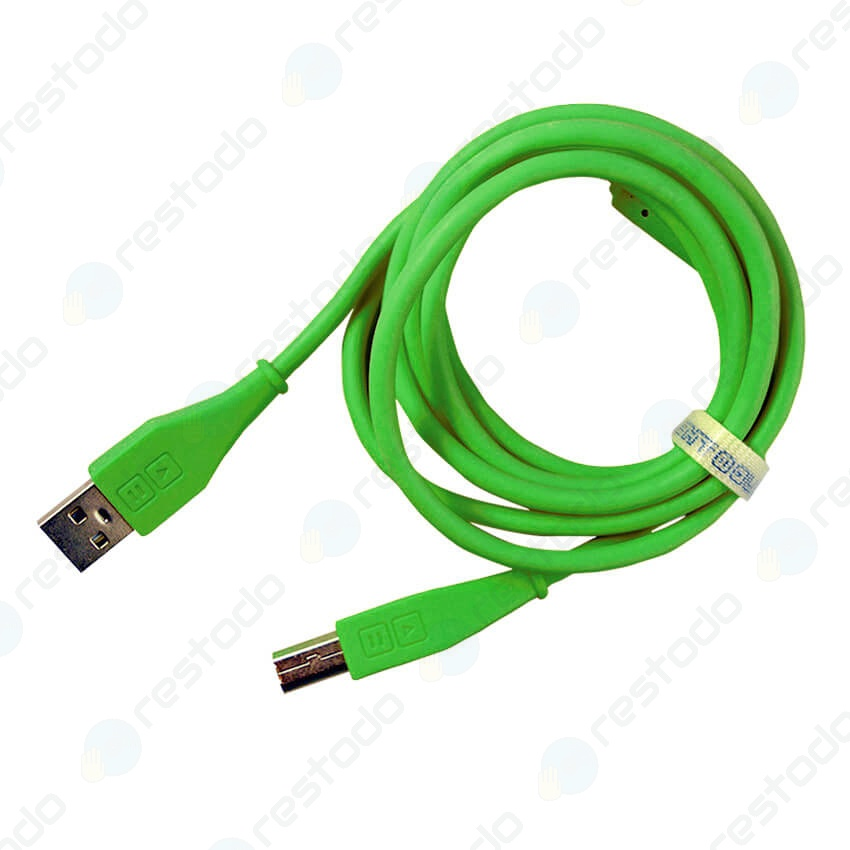 DJ Techtools Chroma Cable USB Recto Verde