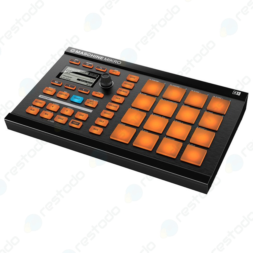 Controlador Native Instruments Machine Mikro