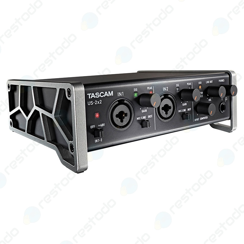 Interfaz de Audio Tascam US-2x2
